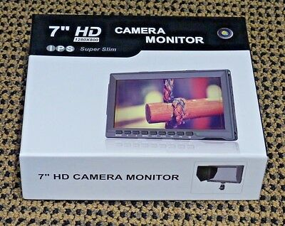Neewer NW759(C) 7 inches 1280x800 IPS Screen Camera Field Monitor - NEW