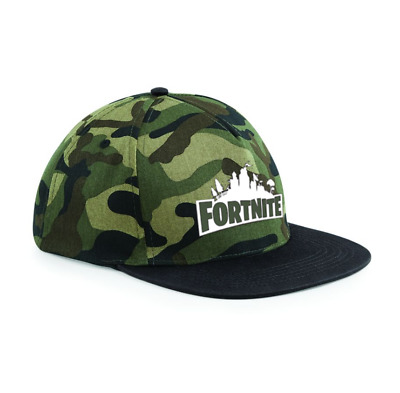 79655a07ac9 Fortnite Men Kids Boys Girls Snapback Hat Cap Camo Battle Royale Survival  PS4