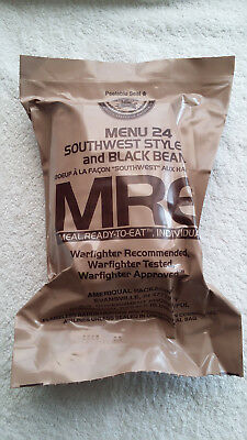 Mre U.s Ration Pack Menu 24, Camping, Hiking, Fishing,airsoft,survival