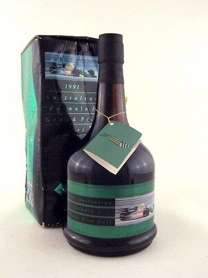 1991 FORMULA ONE GRAND PRIX F1 GP Tawny Port in Original Box ISLE OF WINE