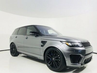 Range Rover Sport Navigation | Rear Camera | Pano Roof | Sport Seati 2017 Land Rover Range Rover Sport SVR Navigation | Rear Camera | Pano Roof | Spo