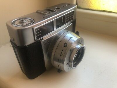 Vintage Zeiss Ikon Symbolica Prontormat 35Mm Photo Camera 45Mm Lens F:2.8