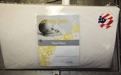 Glenna Jean Florence Fitted Crib Sheet cream
