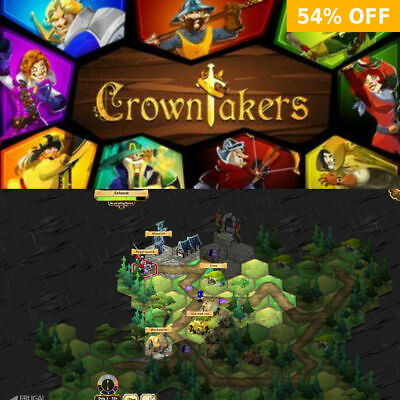 Crowntakers - PC WINDOWS MAC LINUX - Steam
