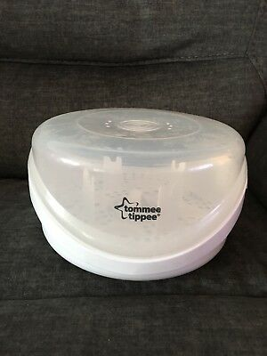 Tommee Tippee Closer To Nature Microwave Steam Sterilizer **4 Bottles at a Time
