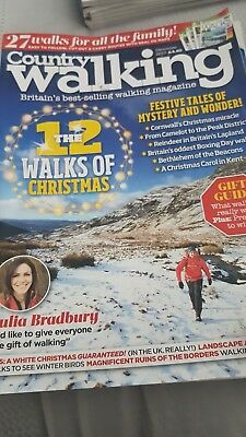 Country Walking Magazine - issue 374 - December 2017.. was £4.30