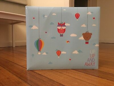 """Becky Higgins - Project Life - Album """"Up Up And Away"""" (12"""" X 12"""")"""