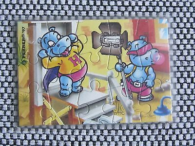 Ü-Ei-Puzzle Happy Hippo Hollywood Stars, 1997