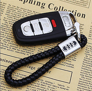 Audi Key Ring Key Chain Car Key Holder a1 a2 a3 a4 q7 s lines... WEEKEND OFFER