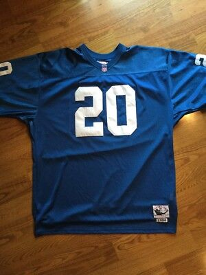 Barry Sanders 1996 Mitchell   Ness Throwback Jersey SZ 56 Detroit Lions  Vintage fac60354b