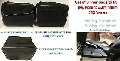 Pannier Liner Bags & Top Box Bag For Bmw R1200 Gs Water-Cooled Lc 2013