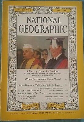 National Geographic magazine May 1960