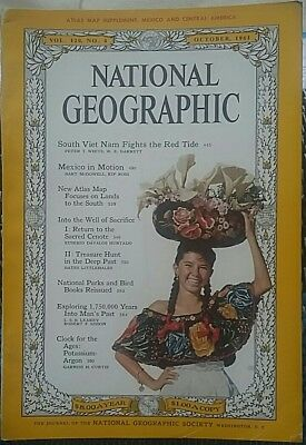 National Geographic magazine October 1961