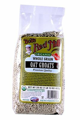Bobs Red Mill Organic Whole Grain Oat Groats 29-ounce