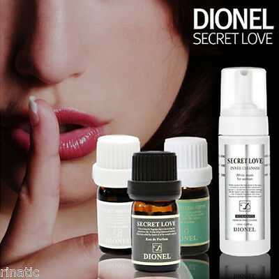 DIONEL Secret Love Feminine Perfume Cleanser Natural Aroma Fragrance Black 5mlx1