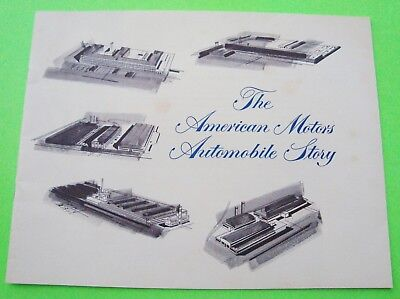 1957 AMERICAN MOTORS STORY CATALOG Brochure HUDSON Nash JEFFERY Essex 16-pg AMC