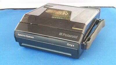 Polaroid Special Edition Spectra System ONYX Camera With Transparent Body