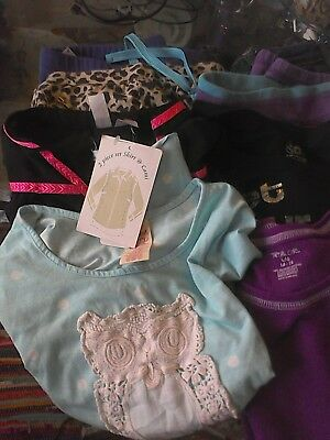 girl back school lot of 27 size 10 mixed lot used
