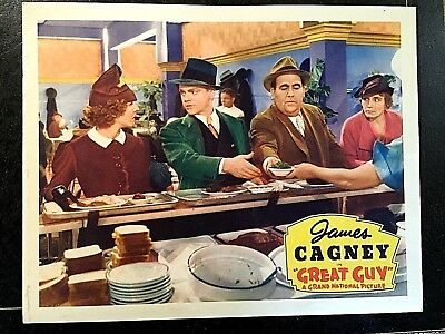 Great Guy 1936 Original Lobby Card - James Cagney