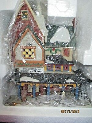 """Dept 56 Dickens Village """"The China Trader"""" #56.58447 EXCELLENT"""