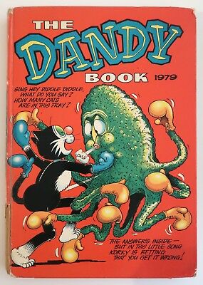 The Dandy Book Annual 1979, 1987 - 1989 Reasonable Used Condition