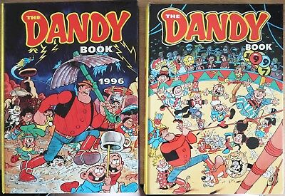 The Dandy Book Annual 1991 - 1997 Good Used Condition