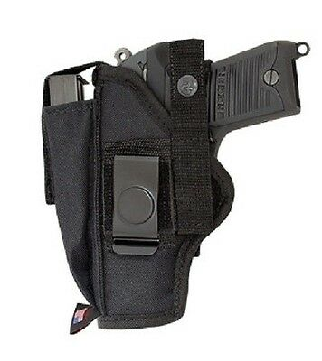 Fits Hudson H9 Pant Belt Owb Gun Holster With Extra Mag Pouch - Buy American