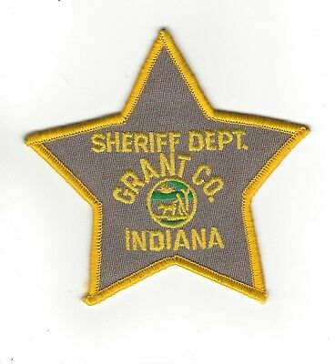Grant County IN Indiana Sheriff Dept. patch - NEW!