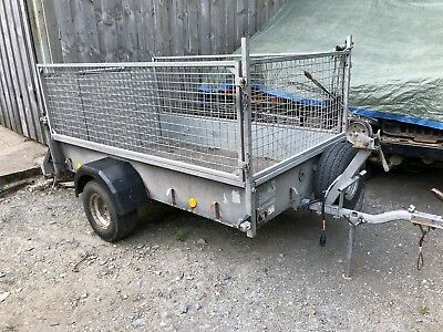 Ifor Williams P7E Caged Trailer With Hand Winch