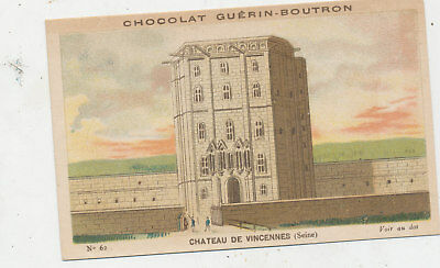C8724  Victorian Trade Card Chocolat Chocolate French Guerin Boutron
