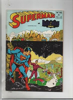 Superman et Batman n° 55 - SAGE 1973. TTB