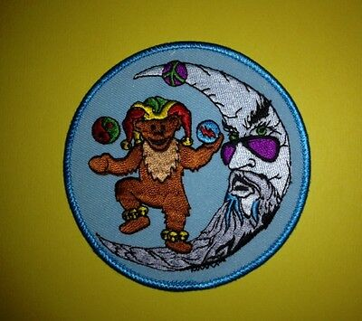 Vintage Grateful Dead Folk Rock Music Hippie Hat Hipster Jacket Patch Crest E