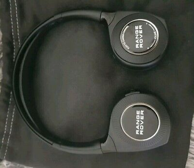 Range rover wireless headphones brand new never used with bag