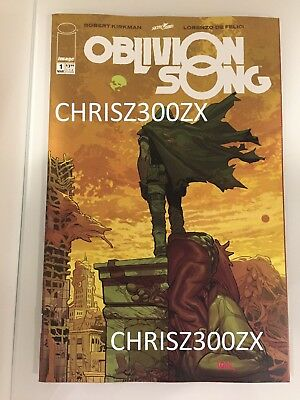 Image Comics Skybound Oblivion Song #1 Kirkman
