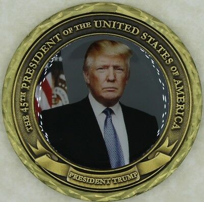 President of the United States Donald J. Trump Challenge Coin