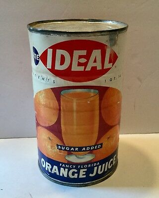 Vintage Juice Can Advertising General Store Philadlphia Pa Idea Acme Florida