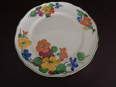 """Vintage Knowles, Taylor & Knowles 9-1/4"""" China Plate (Cat.#11B050)"""