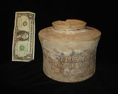X RARE!  MASSIVE!  ANCIENT PAINTED POT!  5000 years old! 3000BC~