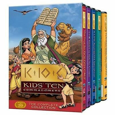 Kids' Ten Commandments: The Complete Collection DVD