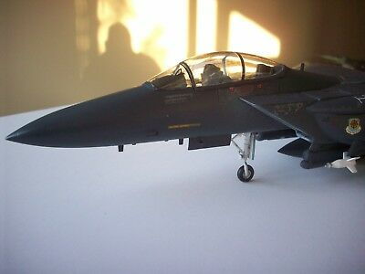 F-15-E Strike Eagle jet Built BIG 1/48 scale Airbrushed with Model Master paints