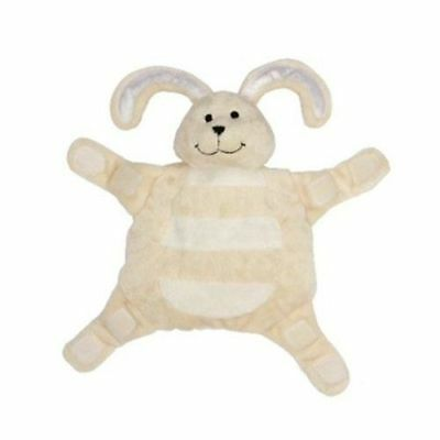 New baby Sleepytot bunny, Dummy holder Comforter Security Blanket SMALL Cream