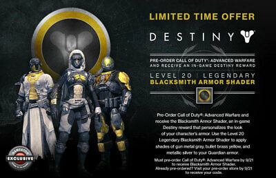 Destiny 1 Heart of the Foundation emblem VERY RARE IN HAND!! SAME DAY DELIVERY!