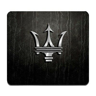 Maserati Logo mousepad / custom mousepad from USA
