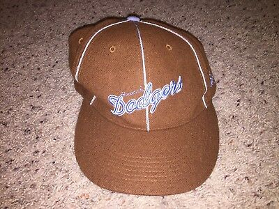 da619e85dbc Newark Dodgers Negro League JC Freeman Son Authentics Vintage Fitted Hat  Size 7