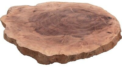 Large Lengkeng Klengkleng Wood Plate Tree Slices Rustic Place Mats Boards