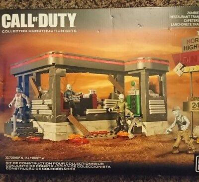 Megabloks Call Of Duty Zombies Tranzit Diner
