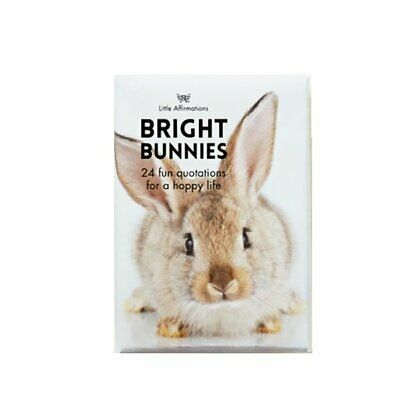 Bright Bunny - Affirmation Animal Card Set - Affirmation Card Sets, APHDBU