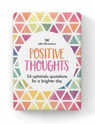 Positive Thoughts - Affirmation Card Set - Affirmation Card Sets, APHDPT