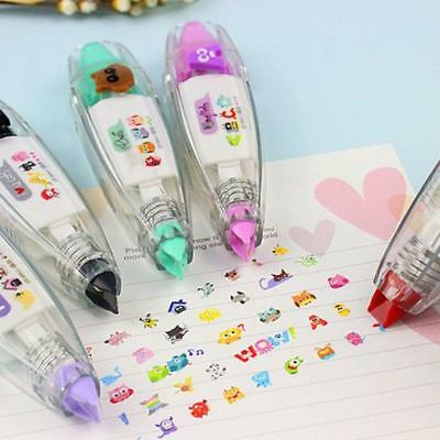 Decorative Type Correction Tape Cute Stationery Push Scrapbooking_Dairy!