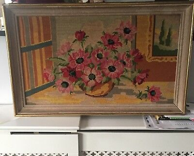 Vintage French Tapestry  - Wall hanging